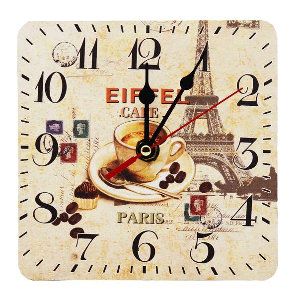 ساعت رومیزی طرح coffee کد 406