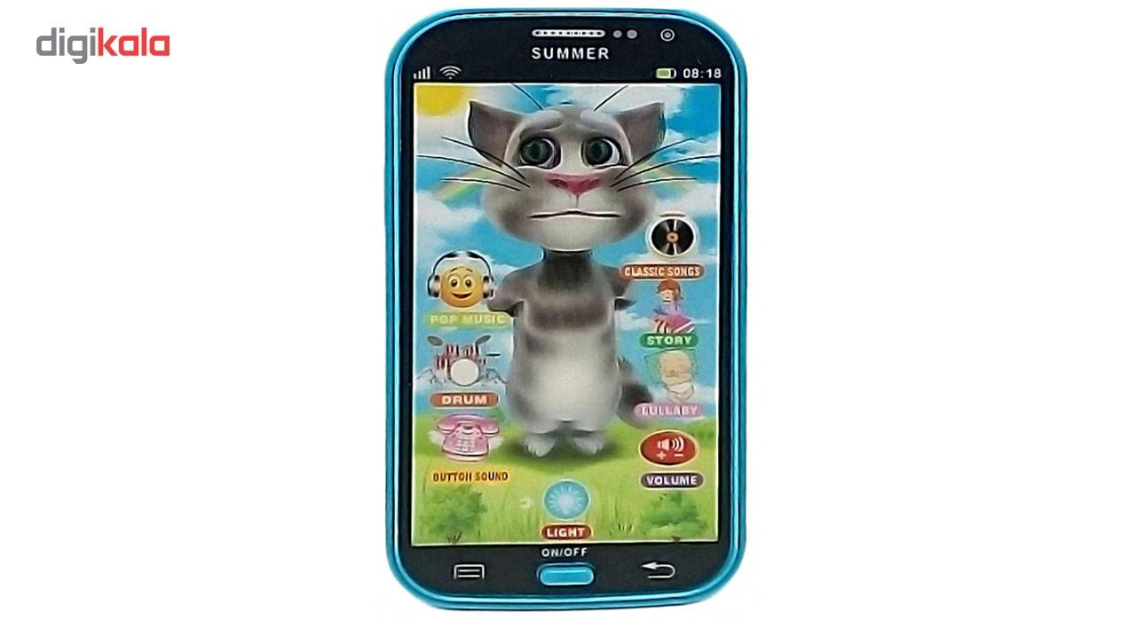 موبایل اسباب بازی مدل Talking Tom 208 main 1 1