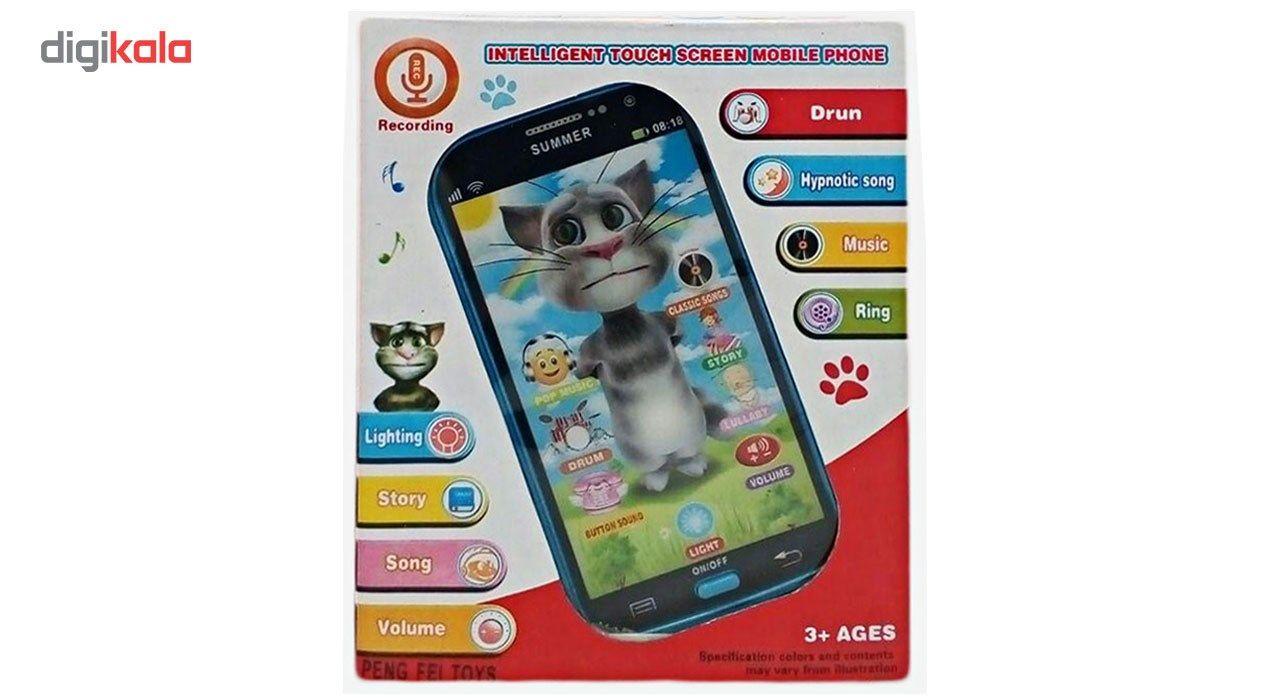 موبایل اسباب بازی مدل Talking Tom 208 main 1 2