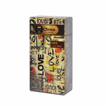 کاندوم کلایمکس مدل Mix 10 بسته 12 عددی