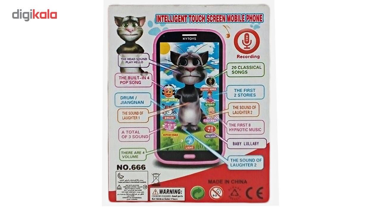 موبایل اسباب بازی مدل Talking Tom 208 main 1 3