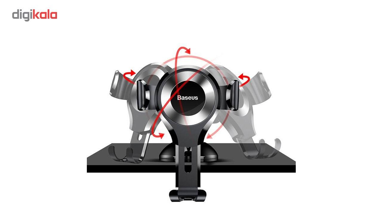 پایه نگهدارنده گوشی موبایل باسئوس مدل Osculum Type Gravity main 1 3