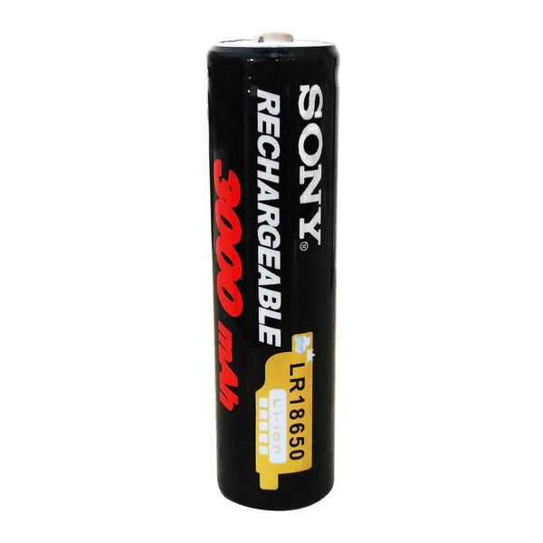 باتری لیتیوم-یون قابل شارژ سونی کد 18650 ظرفیت 3000 میلی آمپرساعت
