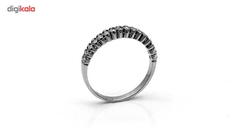 انگشتر طلا 18 عیار جواهری سون مدل 2291