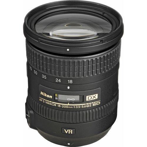 لنز نیکون مدل 18-200mm f/3.5-5.6G IF-ED VR II DX AF-S