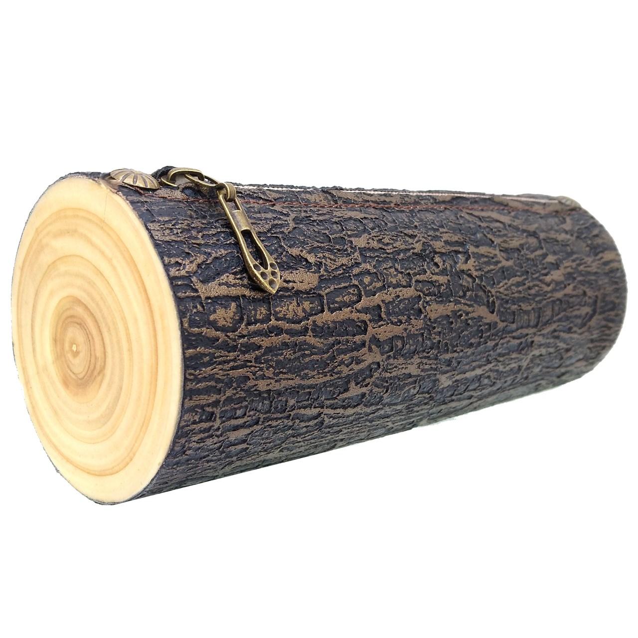 کیف لوازم آرایش آواک طرح کنده درخت مدل 103