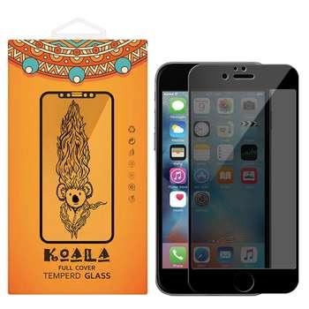 محافظ صفحه نمایش شیشه ای کوالا مدل Privacy مناسب برای گوشی موبایل اپل آیفون 6/6S