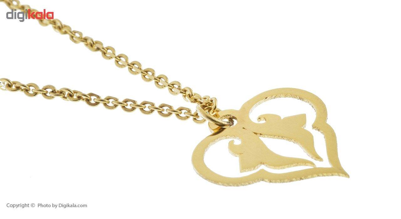 آویز ساعت طلا 18 عیار ماهک مدل MW0081 - مایا ماهک -  - 3