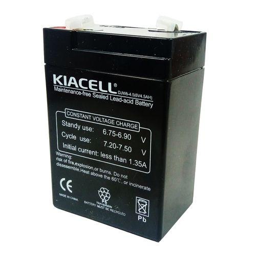 باتری 6 ولت 4.5 آمپر کیاسل مدل DJW6-4.5