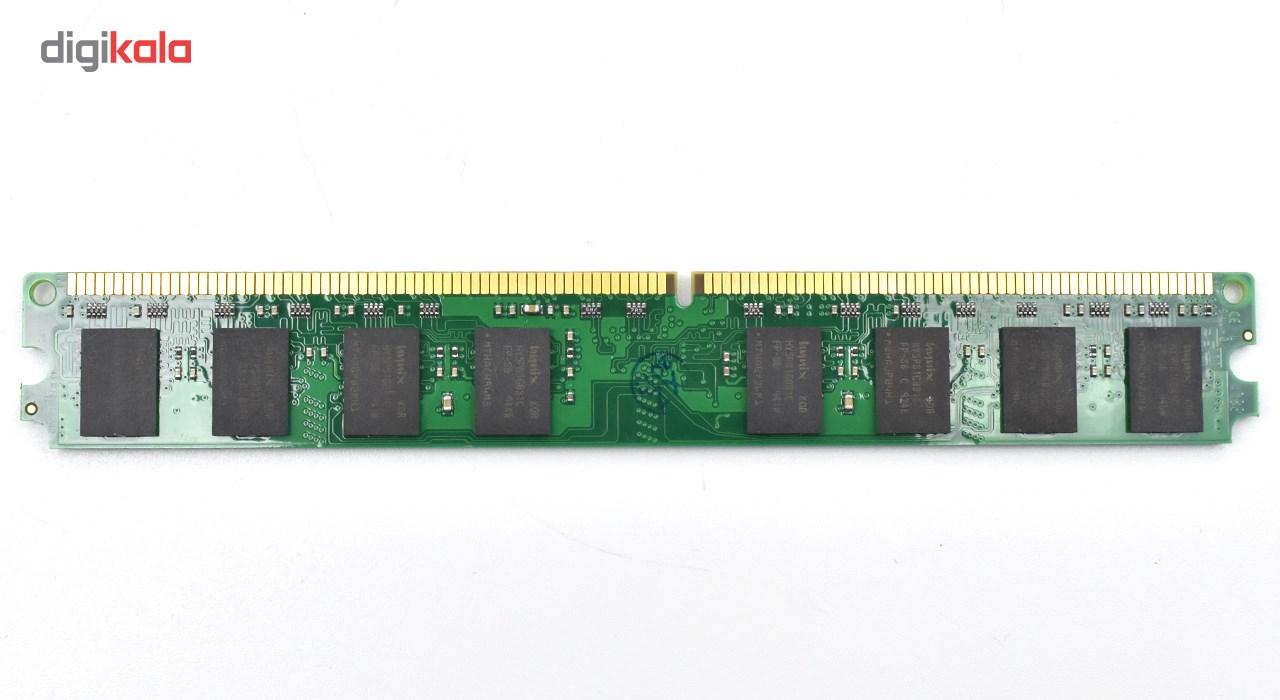 رم دسكتاپ DDR2 تك كاناله 800 مگاهرتز كينگستون ظرفيت 2 گيگابايت
