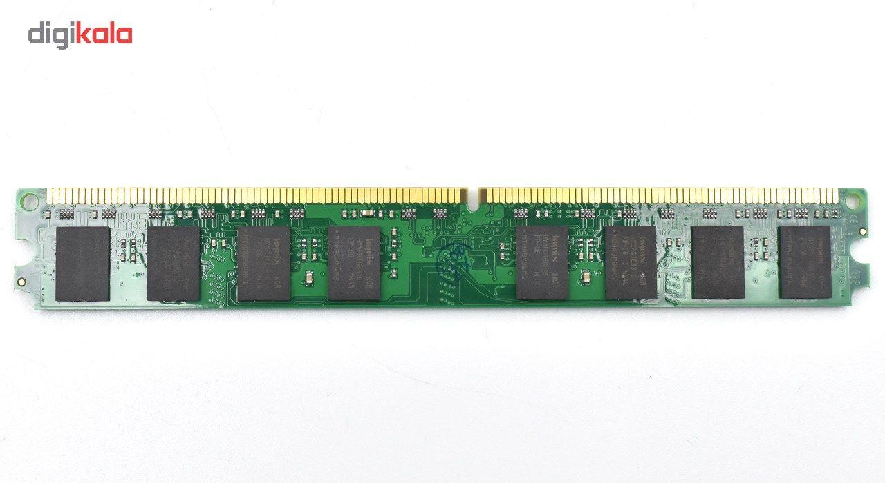 رم دسکتاپ DDR2 تک کاناله 800 مگاهرتز کینگستون ظرفیت 2 گیگابایت main 1 2