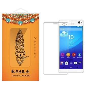 محافظ صفحه نمایش شیشه ای کوالا مدل Tempered مناسب برای گوشی موبایل سونی Xperia C4