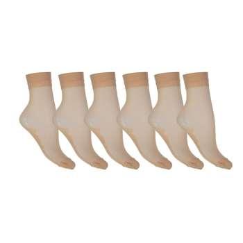 جوراب زنانه پارازین بسته 6 جفتی شهر شیک مدل CL891