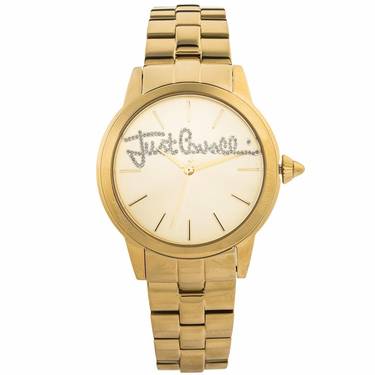 ساعت مچی عقربه ای زنانه جاست کاوالی مدل JC1L006M0085 55
