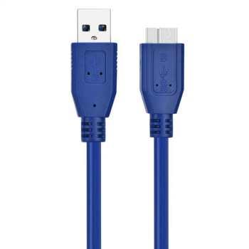 کابل تبدیل usb3.0 به micro-B مدل AM/HDD طول 1.5 متر