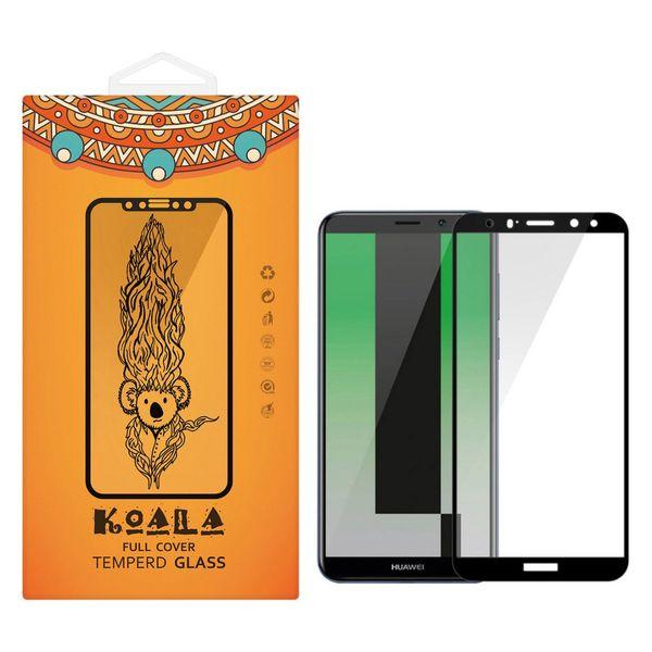محافظ صفحه نمایش شیشه ای کوالا مدل Full Cover مناسب برای گوشی موبایل هوآوی Mate 10 Lite