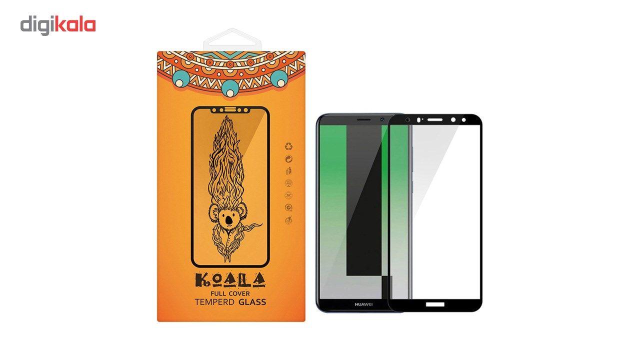 محافظ صفحه نمایش شیشه ای کوالا مدل Full Cover مناسب برای گوشی موبایل هوآوی Mate 10 Lite main 1 1