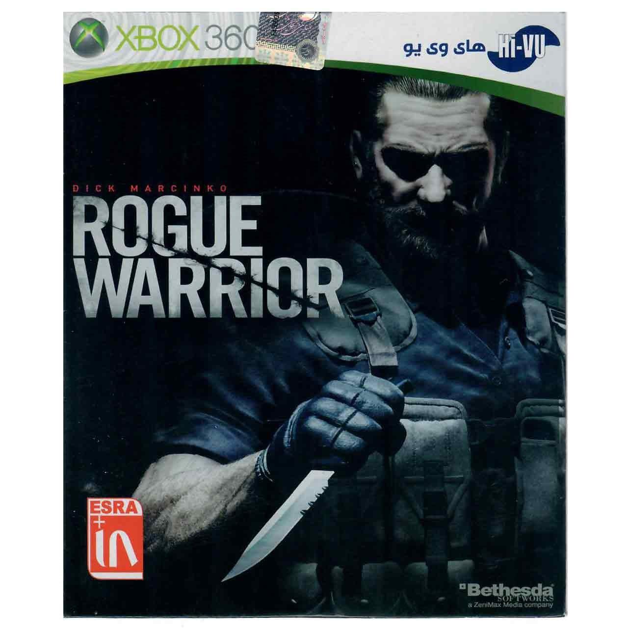 خرید اینترنتی بازیRogue Warrior مخصوص ایکس باکس 360 اورجینال
