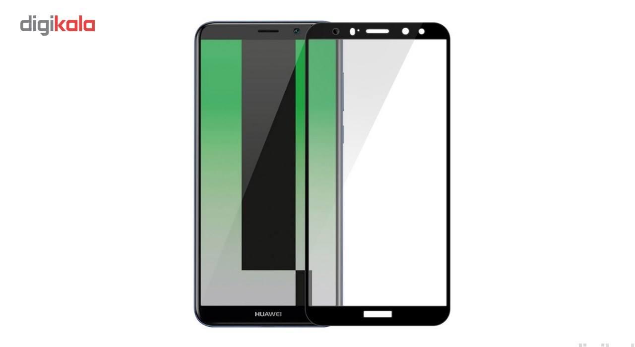 محافظ صفحه نمایش شیشه ای کوالا مدل Full Cover مناسب برای گوشی موبایل هوآوی Mate 10 Lite main 1 2