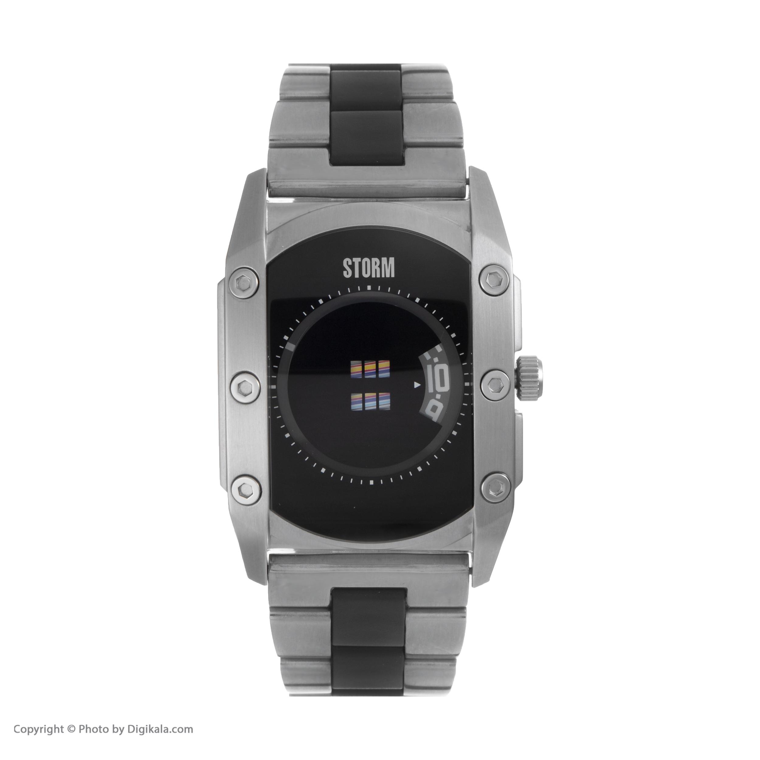 ساعت مچی عقربه ای مردانه استورم مدل ST 47138-BK -  - 3