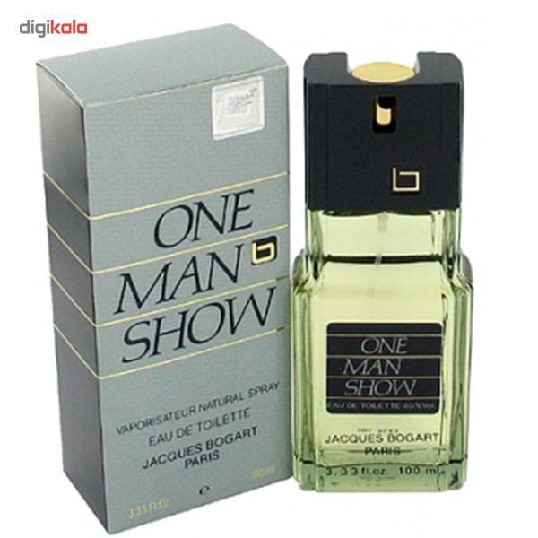 ادو تویلت مردانه ژاک بوگارت مدل One Man Show حجم 100 میلی لیتر