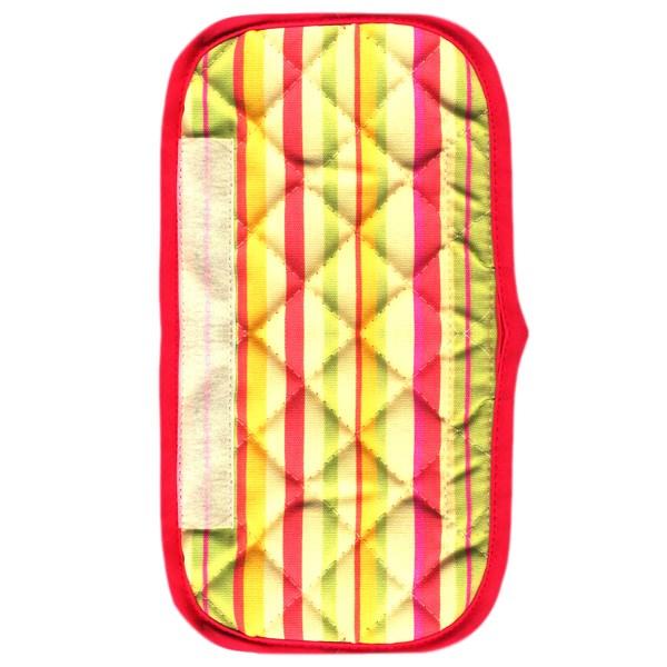 دستگیره یخچال کتان 30 × 15 رزین تاژ طرح اسپرید صورتی