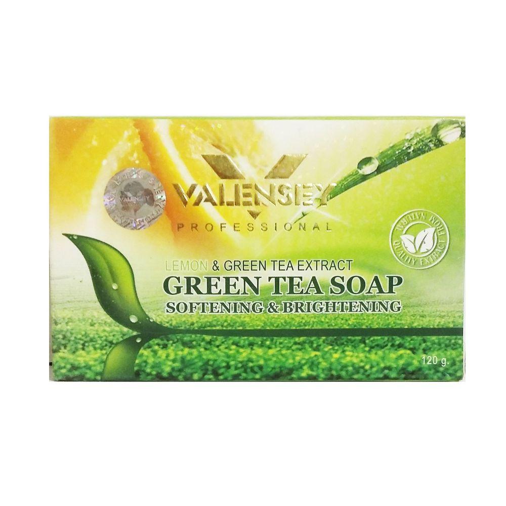 صابون روشن کننده والنسی حاوی چای سبز مقدار 120 گرم