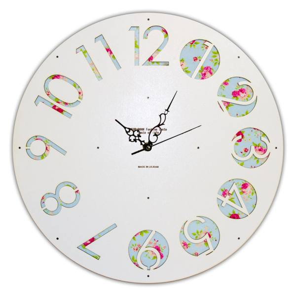 ساعت دیواری فامسین مدل توسکان کد TEC10
