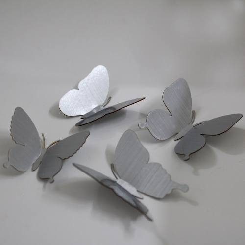 پروانه  سالی وان بسته 40 عددی  طرح  silver