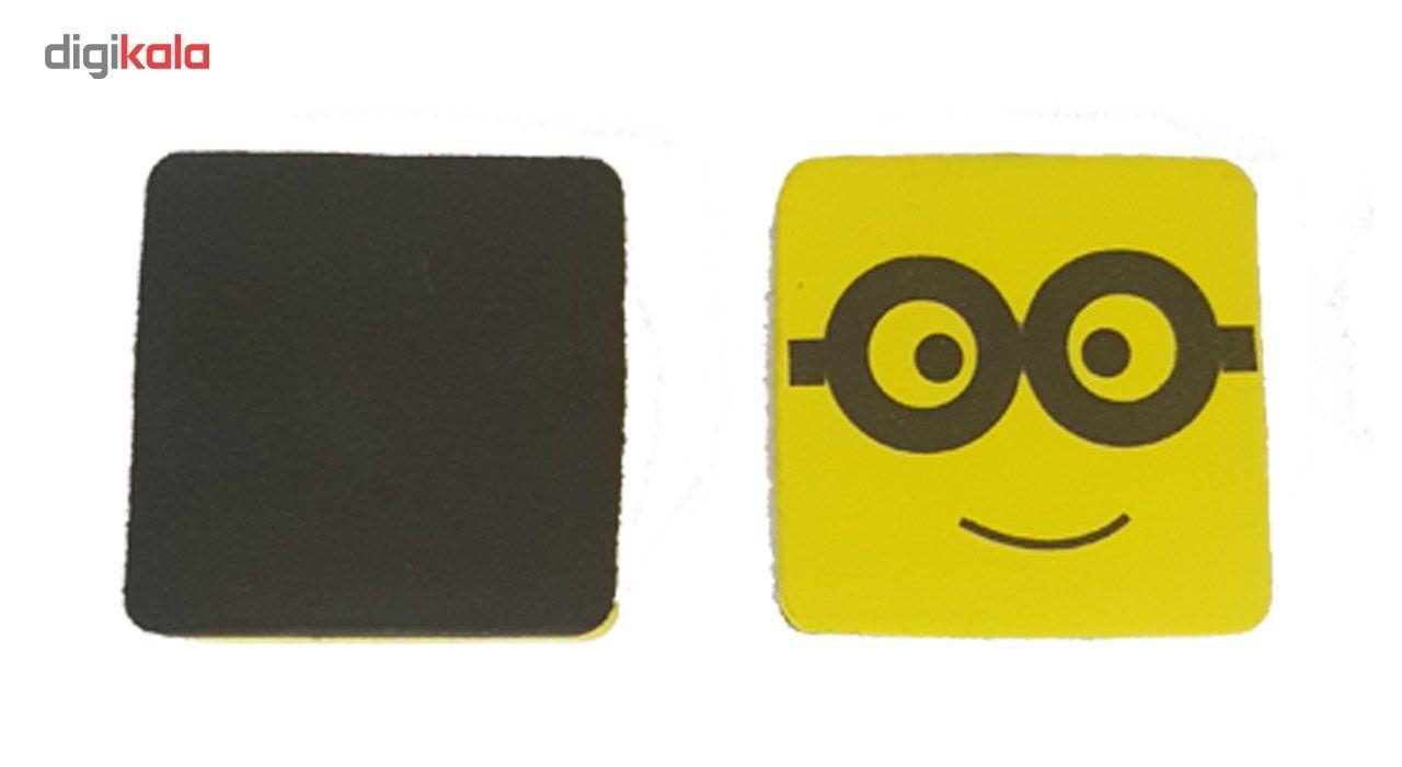 تخته پاک کن وایت برد مغناطیسی مدل عینک - بسته دو عددی main 1 4