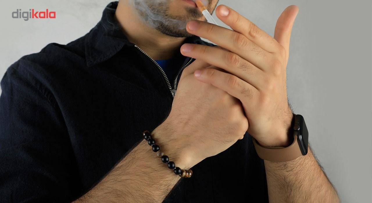 دستبند مردانه ریسه گالری مدل Ri3-T1041B