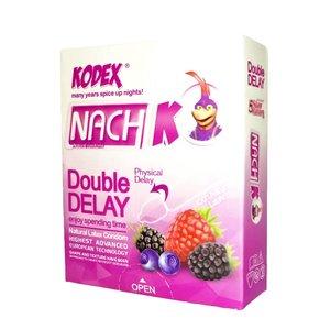 کاندوم تاخیری ناچ مدل Double Delay بسته 3 عددی