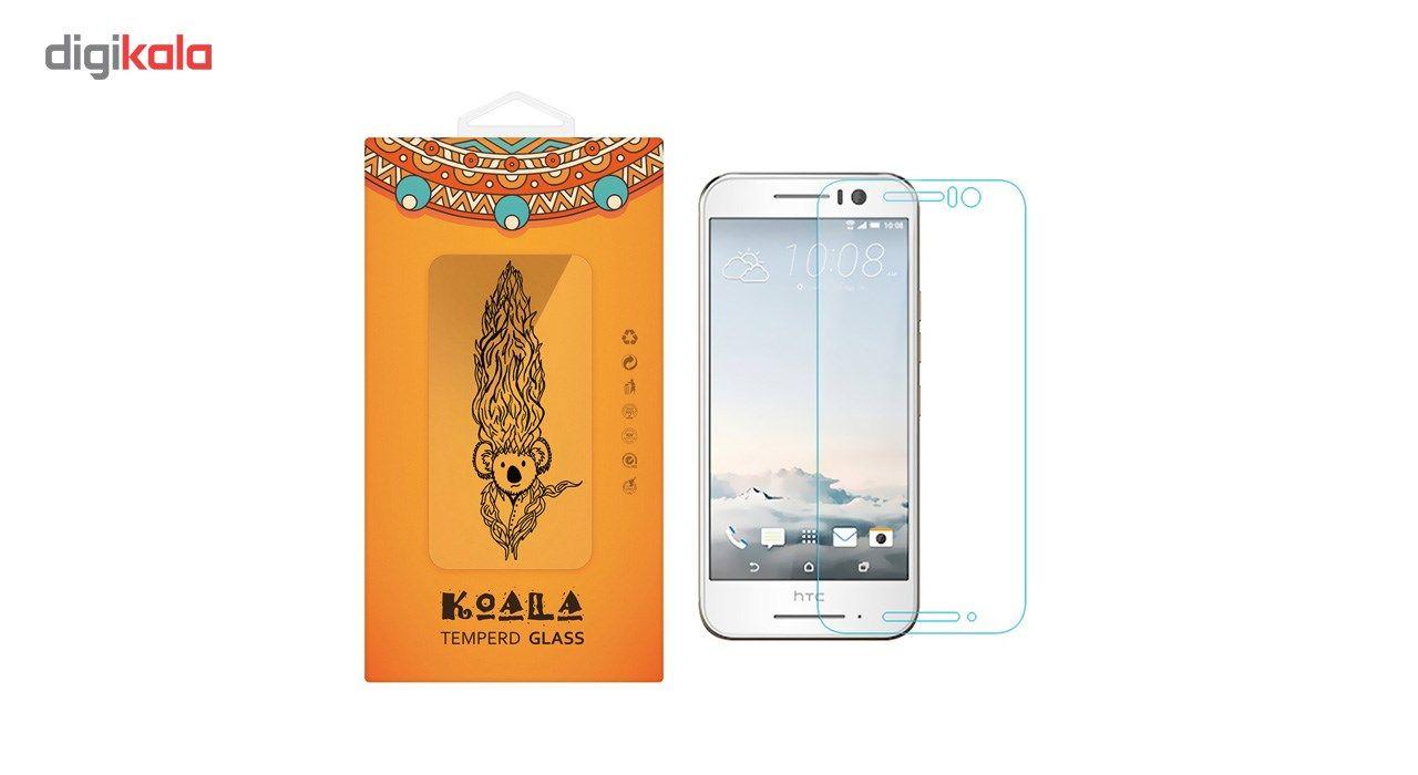 محافظ صفحه نمایش شیشه ای کوالا مدل Tempered مناسب برای گوشی موبایل اچ تی سی One S9 main 1 1