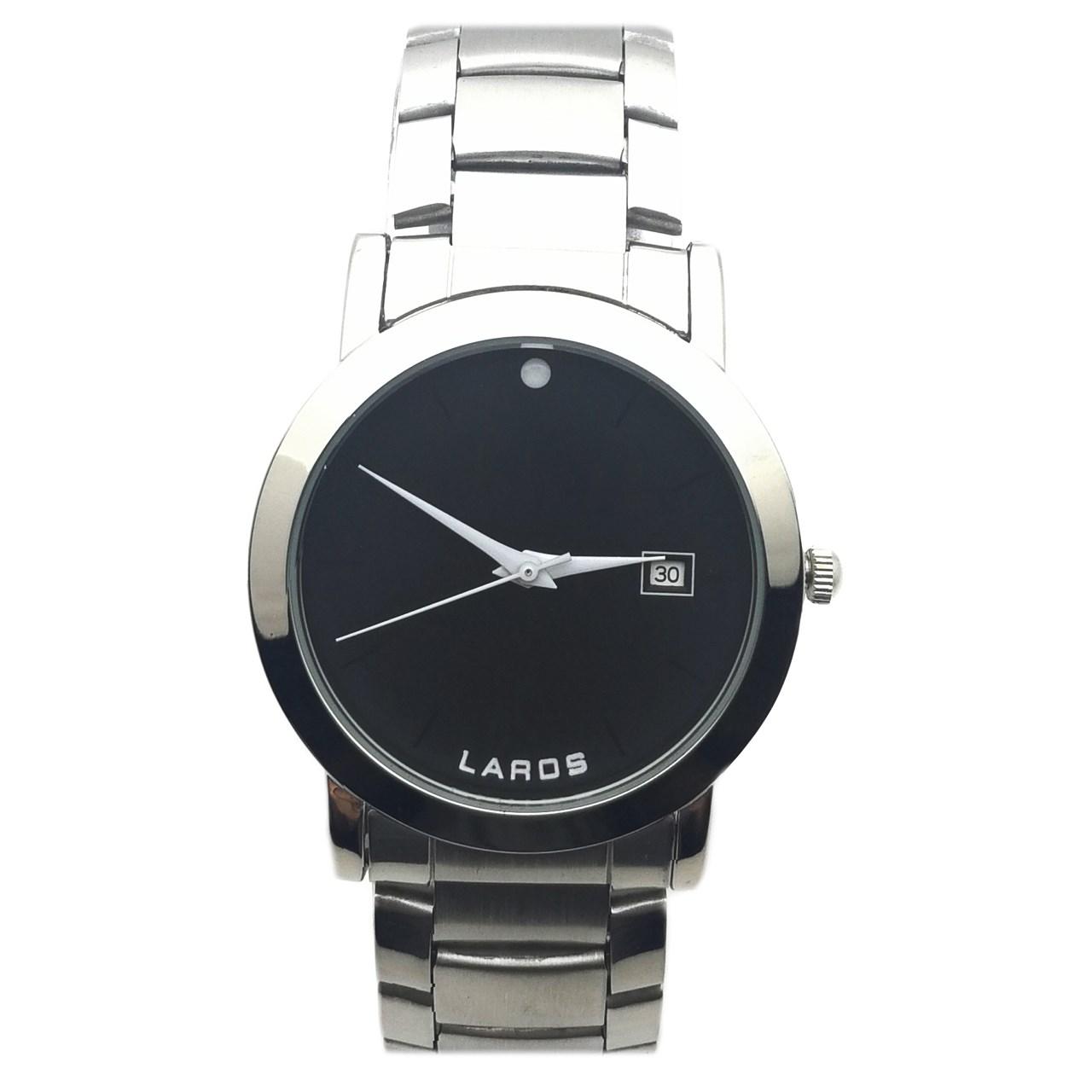 ساعت مچی  مردانه لاروس مدل LM-N609-Black              اصل