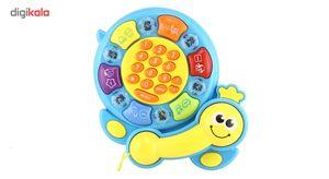 اسباب بازی آموزشی مدل تلفن موزیکال  Musical Telephone Educational Toy