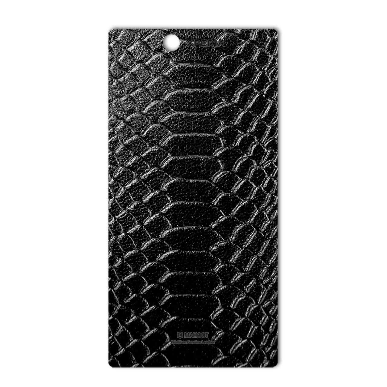 برچسب تزئینی ماهوت مدل Snake Leather مناسب برای گوشی  Sony Xperia Z Ultra