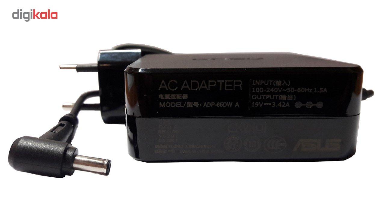 شارژر لپ تاپ 19 ولت 3.42 آمپر مدل ADP-65DW A pin main 1 2
