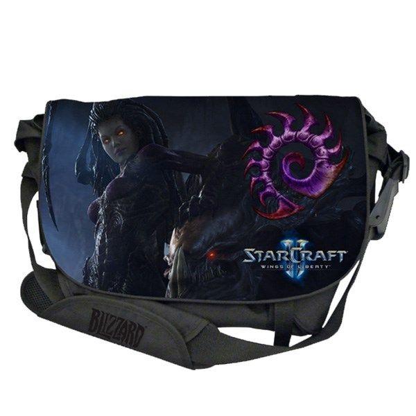 کیف رو دوشی ریزر مدل StarCraft II مناسب برای لپ تاپ های 15 اینچ