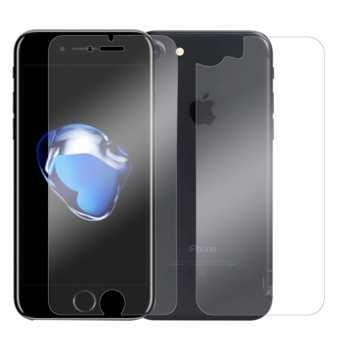 محافظ صفحه نمایش شیشه ای و پشت تمپرد مناسب برای گوشی موبایل اپل آیفون 7/8