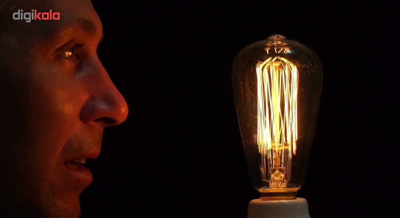 لامپ 40 وات مدل ST64 خطی پایه E27