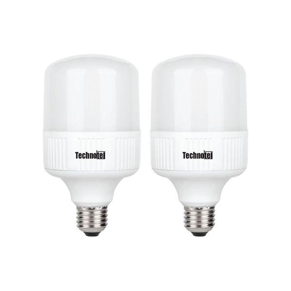 لامپ ال ای دی 20 وات تکنوتل  پایه E27 بسته 2 عددی