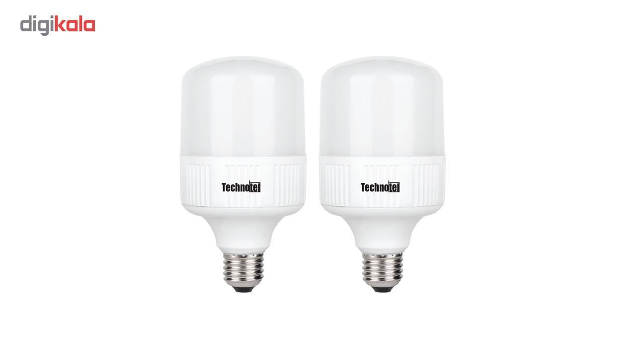لامپ ال ای دی 20 وات تکنوتل  پایه E27 بسته 2 عددی main 1 1