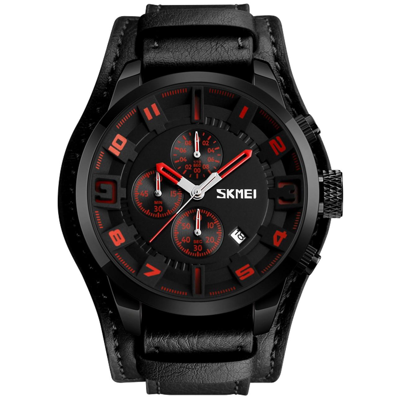 ساعت مچی عقربه ای مردانه  اسکمی مدل9165  کد 04