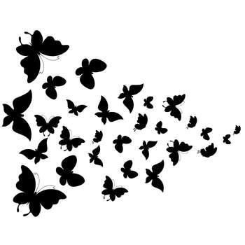 استیکر سالسو طرح پرواز پروانه ها