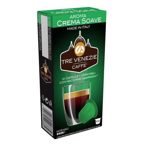 کپسول قهوه تِرِونیز مدل Crema Soave بسته 10 عددی