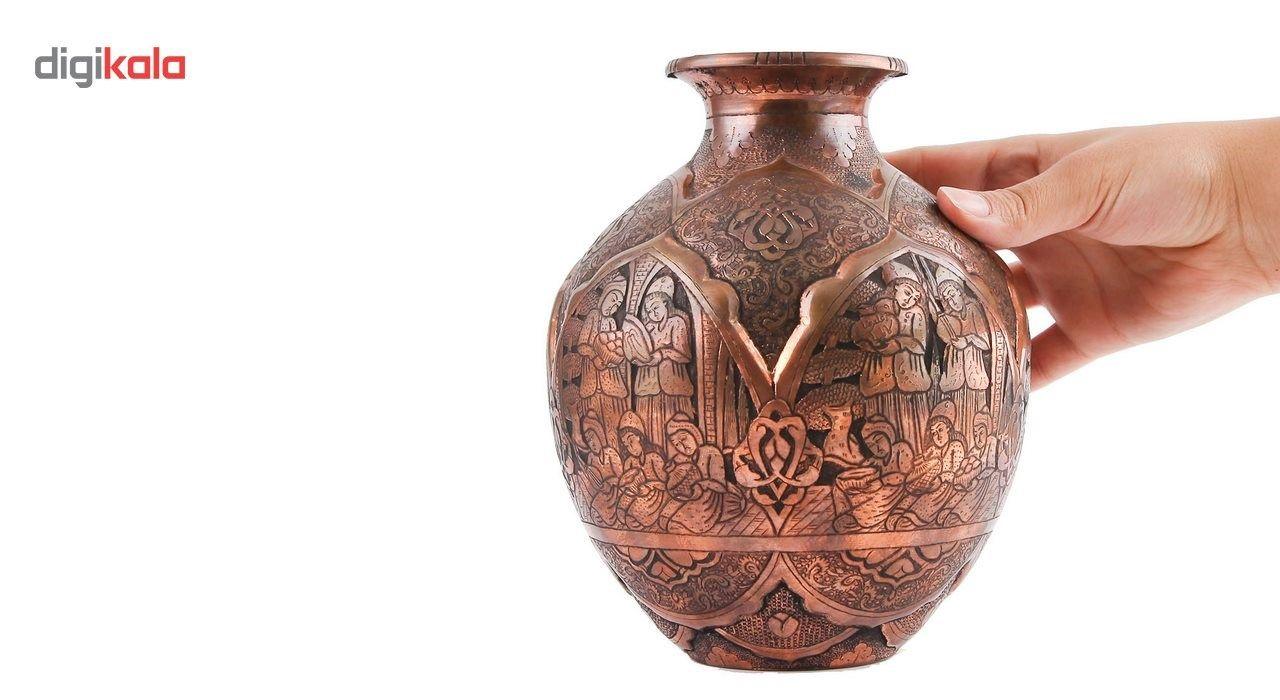 گلدان قلم زنی گالری مثالین طرح لیلی و مجنون کد 149028
