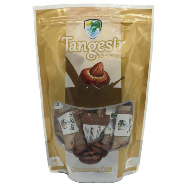 خرما شکلاتی مغزدار نسکافه ای تنگسیر - 450 گرم