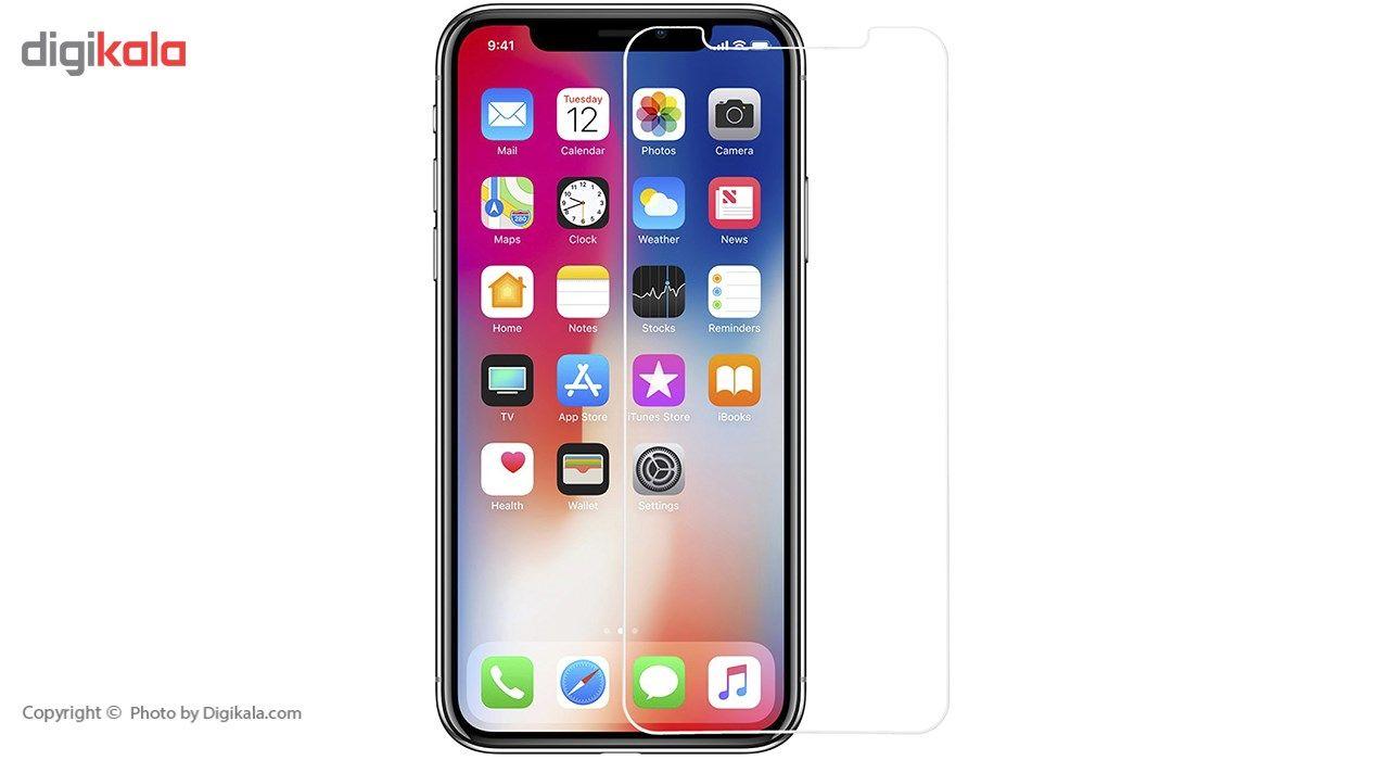 محافظ صفحه نمایش شیشه ای ریمکس مدلTempered مناسب برای گوشی موبایل اپل iPhone X main 1 1