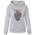هودی زنانه مدل قلب کد A361