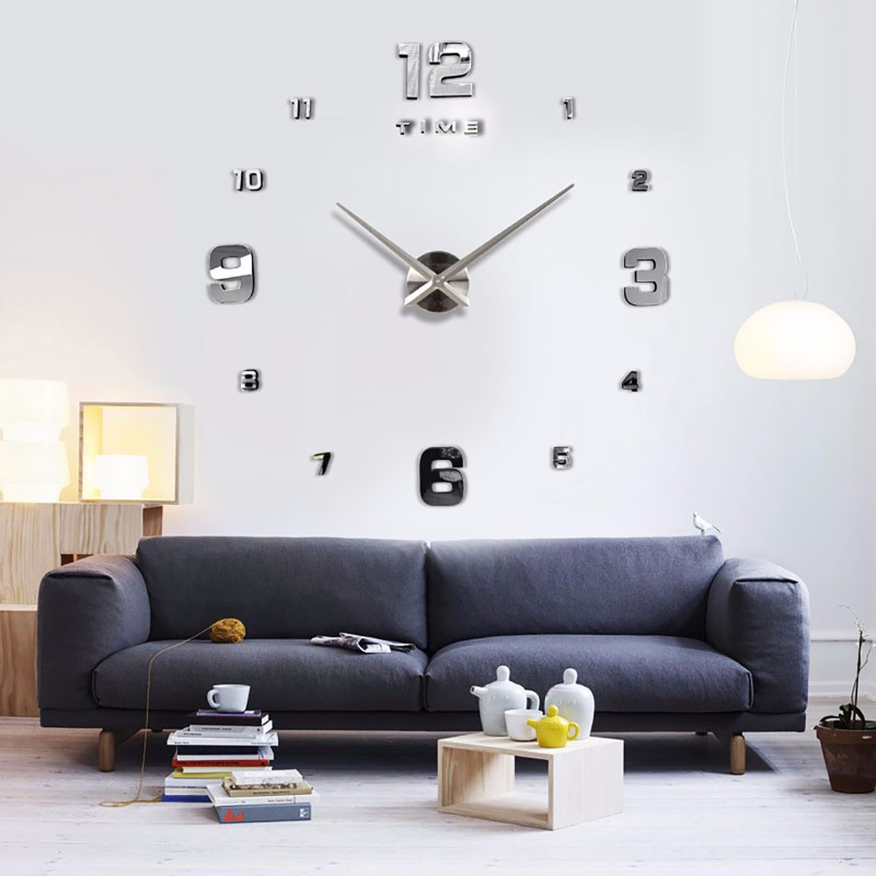 خرید ساعت دیواری پدیده شاپ مدل Harmony
